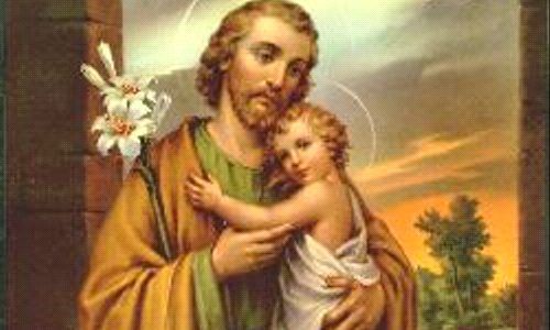 May 1 - Feast of St Joseph the Worker