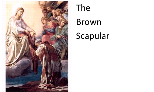 Brown Scapular Enrollment - August 15